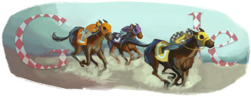 Google Logo: Melbourne Cup - The race that stops the nation