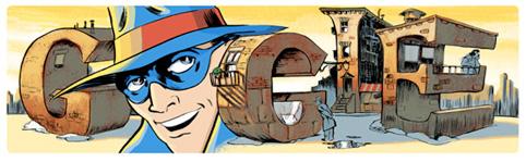 Google Logo: Will Eisner's 94th Birthday - American comics writer