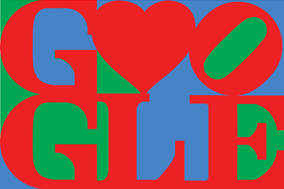 Google Logo: Happy Valentine's Day from Google & Robert Indiana