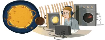 Google Logo: Ruby Payne-Scott's 100th Birthday - Australian pioneer in radiophysics and radio astronomy