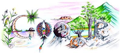 Google Logo: Winning Doodle 4 Google 'My Future Australia' - Drawn by Timothy Winkels