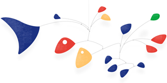 Google Logo: Happy 112th Birthday to Alexander Calder - American sculptor and artist most famous for his mobiles.