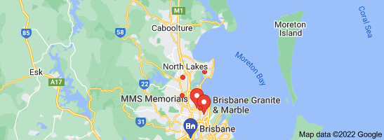 Map of marble benchtops brisbane
