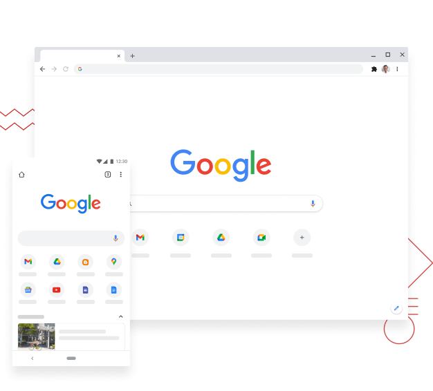 Chrome on desktop and mobile