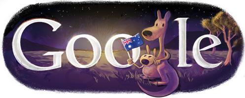 Google's Australia Day