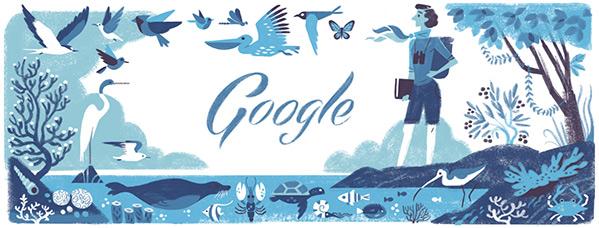107º aniversario del nacimiento de Rachel Louise Carson