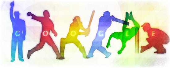 2015 Cricket World Cup Doodle Google 14 febbraio