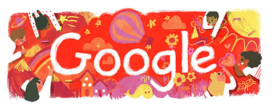 Children's Day 2016 Australia Google Doodle