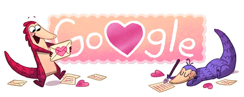 Doodle San Valentino: giocare online con i Pangolini (Manis)