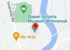 Map of Queen Victoria Museum