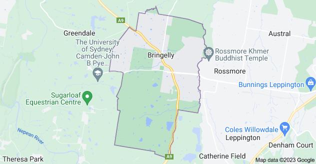 Map of Bringelly NSW 2556