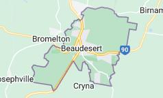 Map of Beaudesert Australia