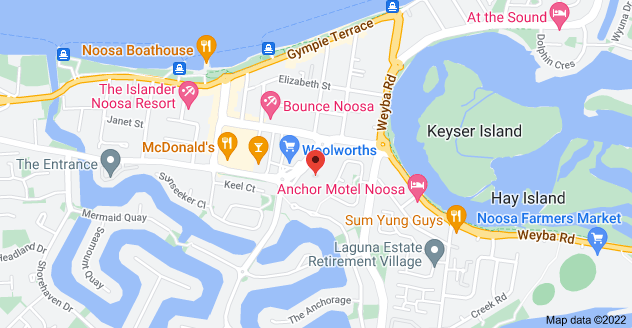 Map of 4/7-9 Gibson Rd, Noosaville QLD 4566