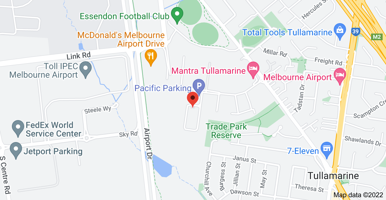 Map of 12 International Square, Tullamarine VIC 3043